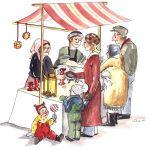 Julmarknad i Eringsboda den 3 december
