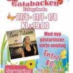 Allsångskvällar på Färgaregården 27/6, 11/7 och 1/8